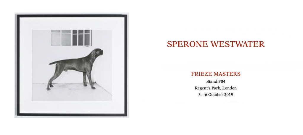 Sperone Westwater: Frieze Masters