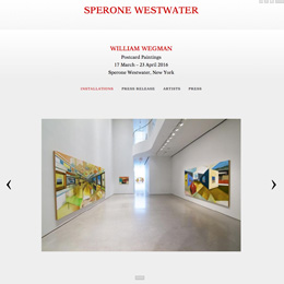Sperone Westwater, 2016